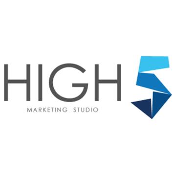 High five studio logo