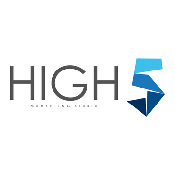 High five studio logo